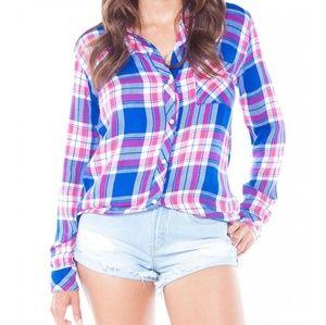 RAILS Hunter Flannel Button Down Shirt Size XS